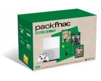 Fnac: Pack Console Xbox One S 1To Fifa 17 + GTA V + Gears of War 4 + Casque à 379€