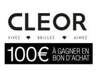 Cleor: 100€ à gagner en bon d'achat tous les mois en s'inscrivant à la newsletter