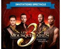 Le Parisien: 2 places pour assister au Spectacle Les 3 Mousquetaires à gagner