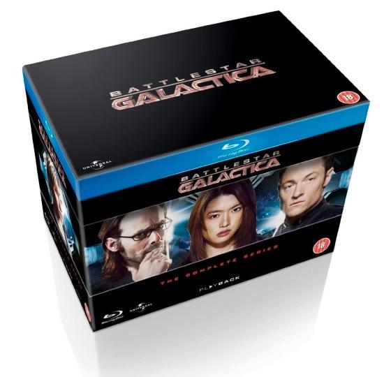 Code promo Zavvi : Coffret Blu-ray Battlestar Galactica à 22,58€