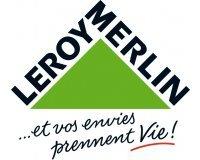 Leroy Merlin: Paiement en 4x sans frais dès 200€ d'achat ou 10x sans frais dès 500€
