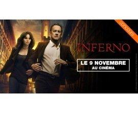 OCS: Des places de cinéma pour aller voir le film Inferno à gagner
