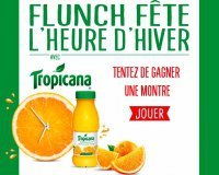 Flunch: 500 montres Tropicana à gagner