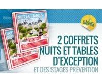 """Centaure: 2 Smartbox """"Nuits et Tables d'Exception"""" & des stages de conduite à gagner"""