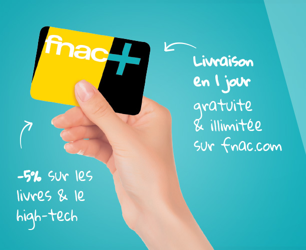 Code promo Showroomprive : Abonnement carte Fnac+ à 9,99€ au lieu de 49€