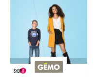 Showroomprive: Payez 5€ pour 40% de réduction sur l'e-shop Gémo
