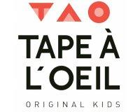 Tape à l'oeil - TAO: Original days : jusqu'à -50% sur une sélection d'articles