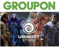 Groupon: Payez 15€ le bon d'achat de 30€ à dépenser sur l'Ubisoft Store