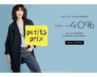 Galeries Lafayette: Jusqu'à -40% sur une sélection d'articles de la saison