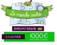 Sergent Major: 1 carte cadeau de 1000 euros à gagner