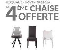 BUT: Pour 3 chaises achetées, la 4ème offerte