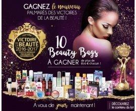 Les Victoires de la Beauté: 10 Beauty Bags à gagner