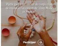 Le Figaro: FIGARO: invitation valable pour deux pour Etsy Made in France à Paris ou à Nice