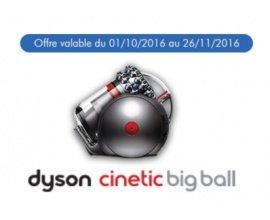 Dyson: 75 ou 100€ remboursés sur le Dyson Cinetic Big Ball en recyclant votre appareil