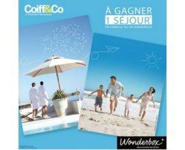 Coiff&Co: 7 Box pour un séjour à savourer en famille ou en amoureux à gagner
