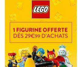 Cultura: 1 figurine offerte dès 29,99€ d'achats de LEGO
