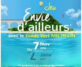 Michelin: 4 Smartbox et 20 packs duo Guide Vert Michelin + Carte à gagner