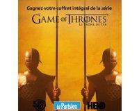 Le Parisien: 10 coffrets de l'intégralité de la série Game Of Thrones à gagner