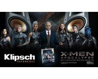 Son-Vidéo: -10% sur une sélection d'enceintes Klipsch + 1 BluRay de X-men Apocalypse offert