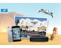 Optic 2000: 2 séjours en Grèce + 3 Iphones + 3 drones + 5 enceintes à gagner