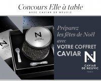 Elle: Des coffrets Caviar de Neuvic à gagner