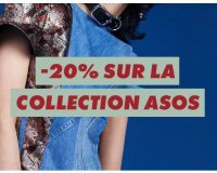 ASOS: - 20% sur la collection Asos