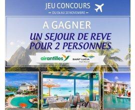 Corsair: 1 séjour pour 2 personnes à Sainte-Lucie à gagner
