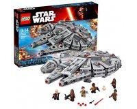 Oxybul éveil et jeux: LEGO Star Wars - 75105 - Millennium Falcon à 97,19€