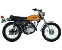 """Canal +: [Abonnés Canal +] Une moto  vintage Yamaha """"125 AT1"""" restaurée à gagner"""