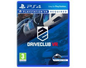 Amazon: Jeu DriveClub VR - PSVR PS4 à 19,99€