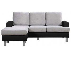 Conforama: Canapé d'angle réversible 3 places RONANE à 199,99€ au lieu de 429€