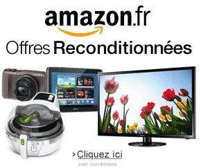 Code promo Amazon : 30% de réduction sur une sélection de produits d'occasion et reconditionnés