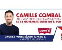 Virgin Radio: 5 séjours à Paris pour assister à l'émission radio de Camille Combal à gagner
