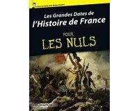 Amazon: Les grandes Dates de l'Histoire pour les Nuls gratuit en format Kindle