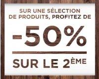 Celio*: -50% sur le deuxième article sur une sélection de pulls et chemises