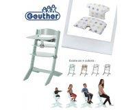 Allobébé: 1 chaise haute Syt + plateau Geuther achetés = 1 coussin adapté offert