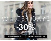 1.2.3: Winter Days : -30% sur une sélection d'articles