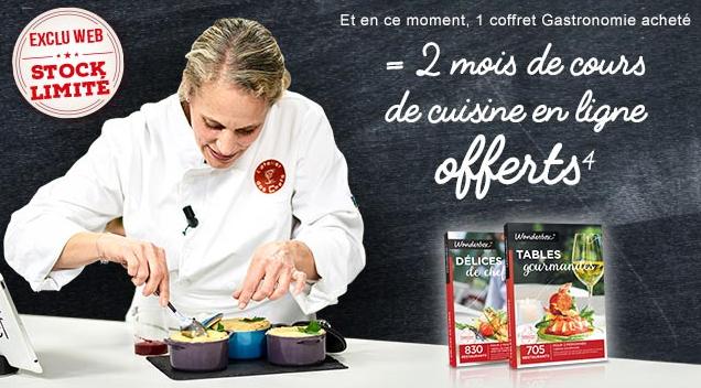 Mois De Cours De Cuisine En Ligne Offerts Pour Lachat Dune Box - Box cours de cuisine
