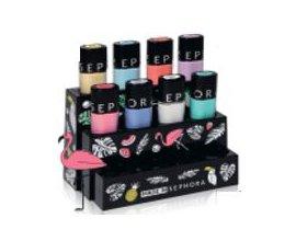 Sephora: Un présentoir offert pour l'achat de 4 vernis Color Hit