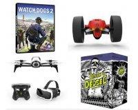 """Ubisoft Store: 60 drones Parrot (""""Bebop 2 FPV"""" & """"Jumping Race"""") et des jeux watch dogs 2"""