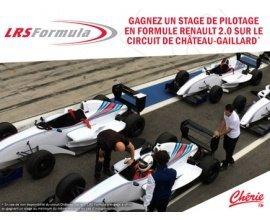 Chérie FM: Un stage de pilotage sur Formule Renault 2.0 à gagner