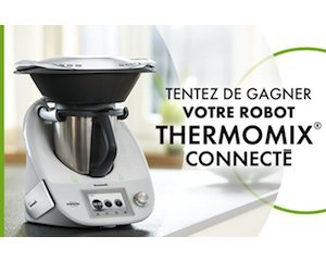 5 robots de cuisine thermomix et d 39 autres lots gagner elle. Black Bedroom Furniture Sets. Home Design Ideas