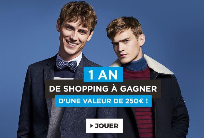 Code promo Jules : 1 an de shopping d'une valeur de 250€ en carte cadeau à gagner