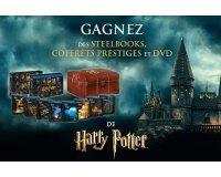 Allociné: Des steelbooks, coffrets prestiges et DVD de Harry Potter à gagner