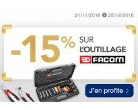 Norauto: 15% de réduction immédiate sur tous les outils FACOM