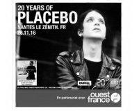 Ouest France: 10 places pour le concert de Placebo au Zénith de Nantes à gagner