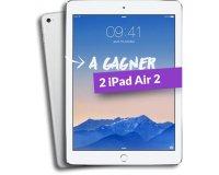MMA: 2 iPad Air 2 32Go à gagner