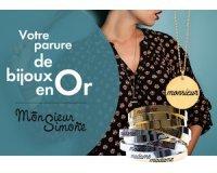 Elle: 30 parures de bijoux Monsieur Simone (1 jonc & 1 sautoir) à gagner