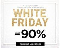 Brandalley: White Friday : jusqu'à -90% sur une sélection d'articles