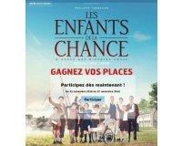 """RFM: Des places de cinéma pour le film """"Les enfants de la chance"""" à gagner"""